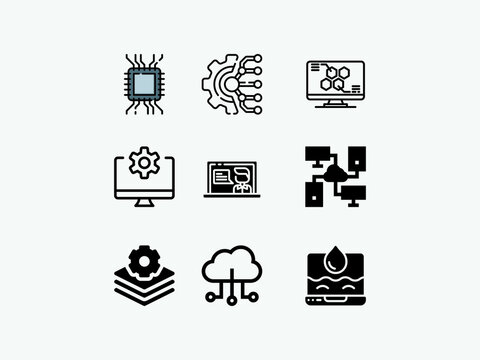 Gear technology vector logo template. This logo is suitable for factory, industrial, technology, website, digital, mechanic, wheel