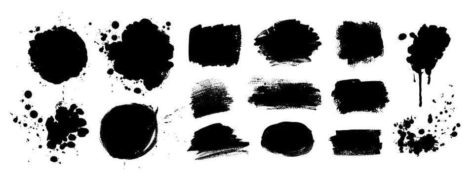 Grunge vector hand drawn elements