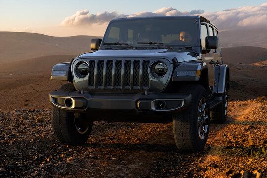 Jeep Wrangler Sahara off-road