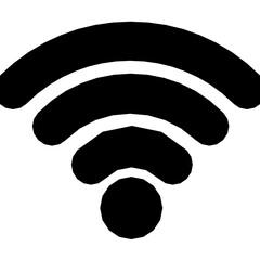 Wifi Vector Solid Icon - fototapety na wymiar