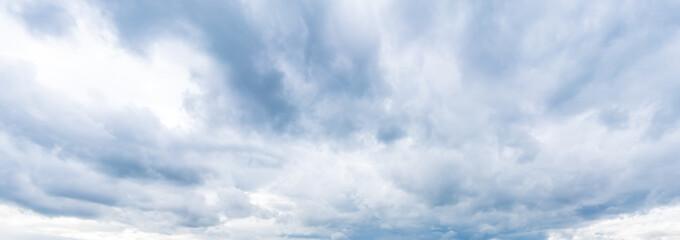 Fototapeta Overcast sky on a stormy day obraz