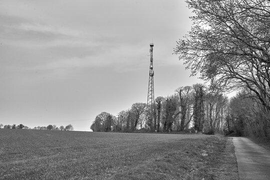 Antenne relais téléphonique .