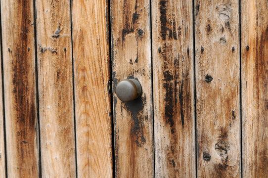 扉のドアノブ