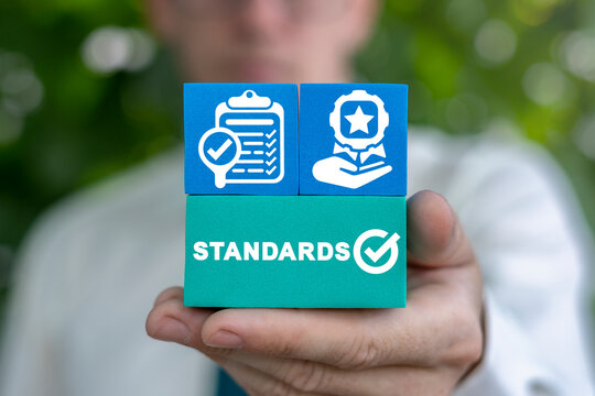 Concept of standards quality certification. Standard compliance.