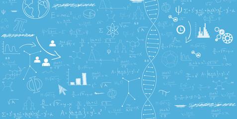 Obraz sfondo, dna, farmaceutica, genetica - fototapety do salonu