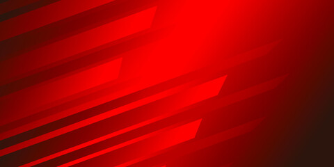 Creative red background for business cards and flyers. Gradient red background. Vector illustration - fototapety na wymiar