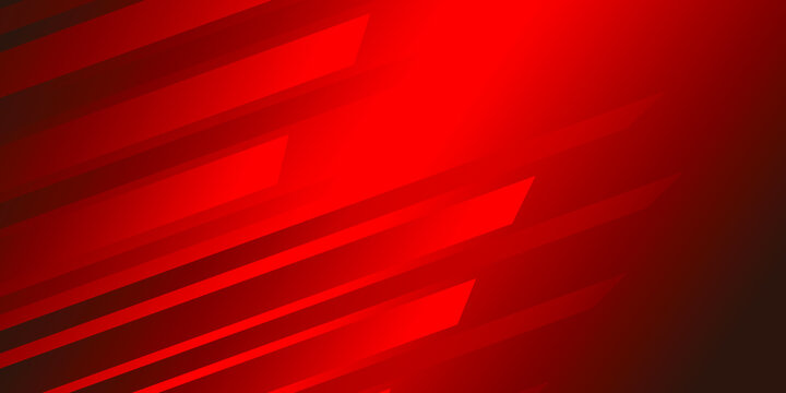 Creative red background for business cards and flyers. Gradient red background. Vector illustration