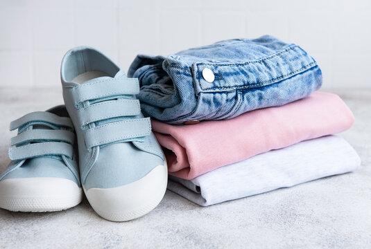 Set of children's clothes