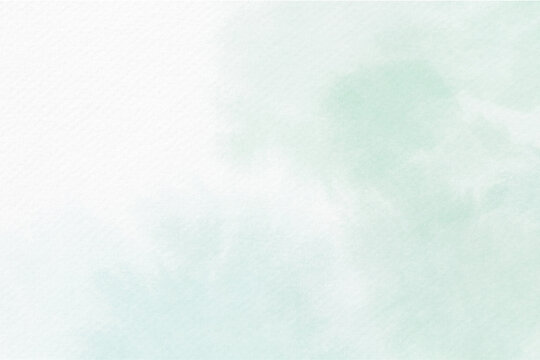 Soft blue watercolor abstract background