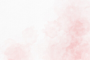 Fototapeta Soft pink watercolor abstract background obraz