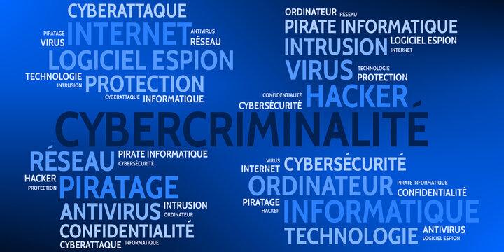 Nuage de Mots Cybercriminalité v9