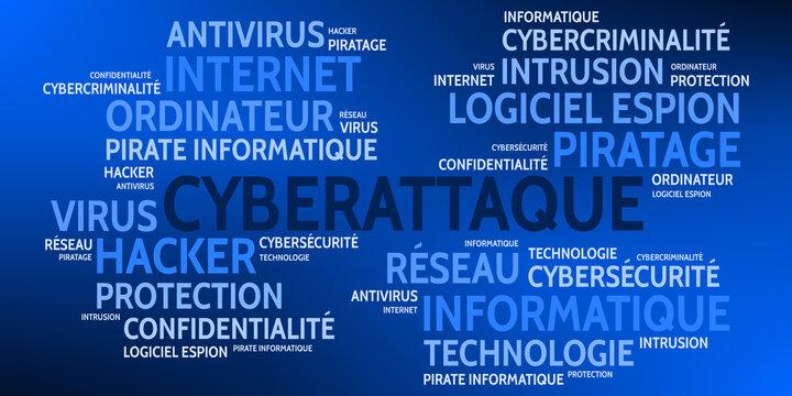 Nuage de Mots Cyberattaque v9