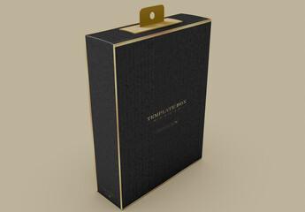 Fototapeta Rectangular Gift Box Mockup obraz
