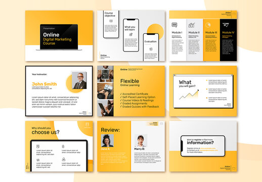 Digital Marketing Business Layout