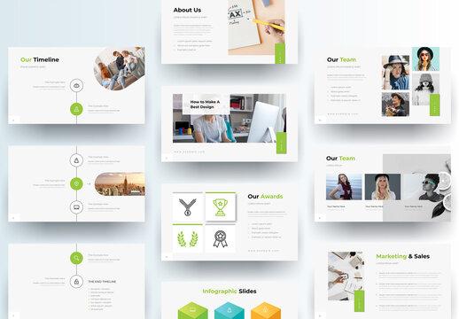 Proposal Presentation Design Layout