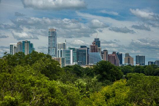 Austin Skyline from Zilker