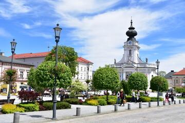 Fototapeta Wadowice – miasto w południowej Polsce, w województwie małopolskim obraz