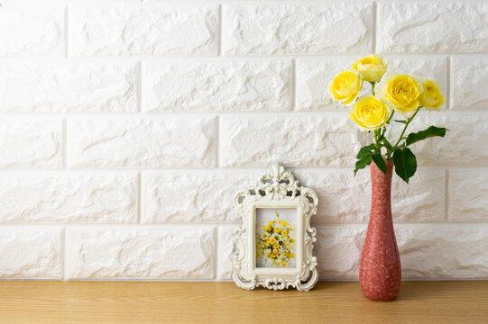 白壁の部屋のイメージ