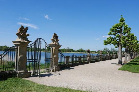 Gartentor Schlossgarten Seehof