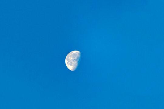 Mond vom Breitenstein aus