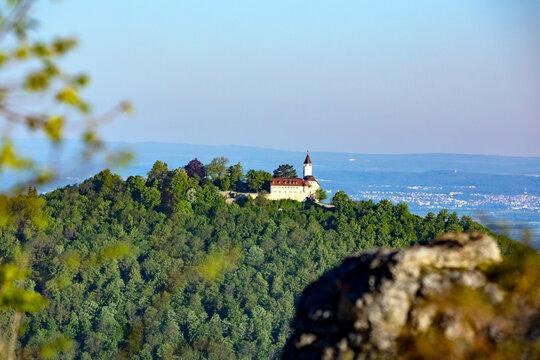 Teck Sicht vom Breitenstein