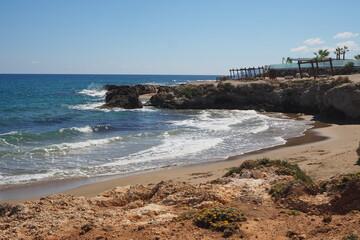 Kamienisty brzeg Krety, Grecja