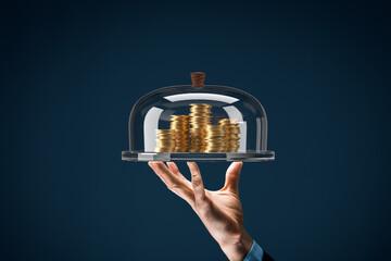 Financial services concept - fototapety na wymiar