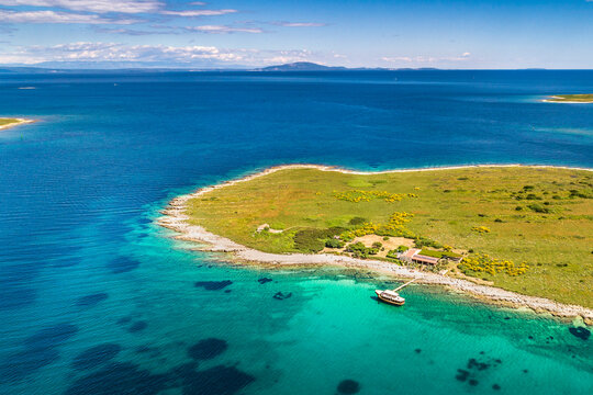 Croatia, Istria, Medulin, Ceja island