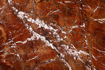 White Fire Gold - marble background, stylish texture in brown tone as part of your strict design look.