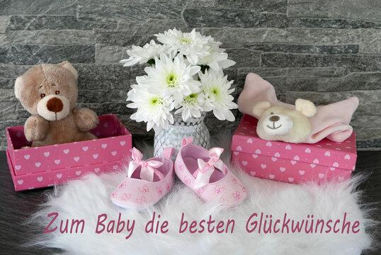 Glückwünsche zum Baby