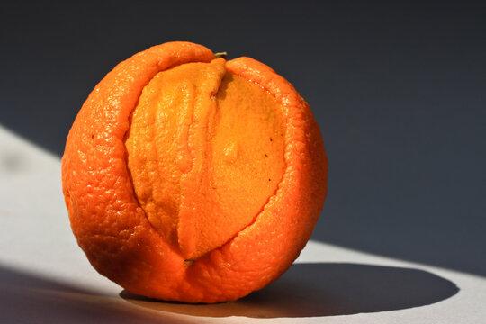 An orange reminiscent of eroticism