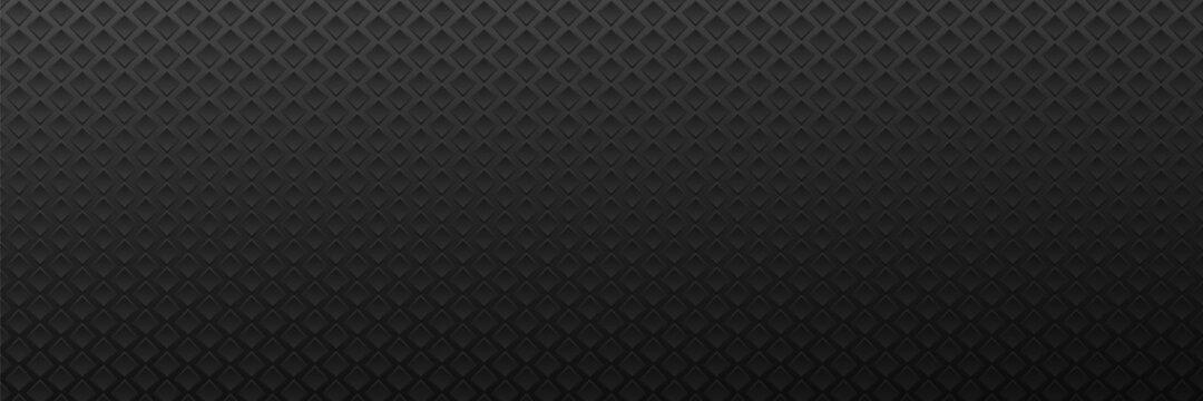 Surface from metal rhombuses dark background.