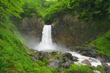 Naena falls, Myoko City, Niigata Pref., Japan Wall mural