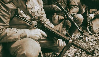 Obraz Soviet weapons of the second world war - fototapety do salonu