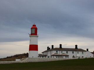 Fototapeta lighthouse on the coast obraz