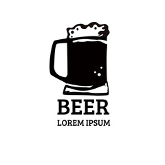 Obraz Piwo -  logo - fototapety do salonu