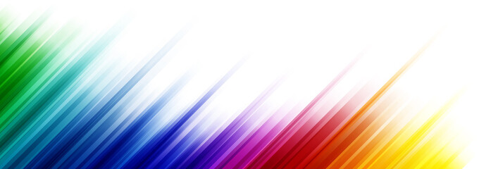 Fototapeta Colorful abstract background with stripes in the different gradient of the color spectrum obraz