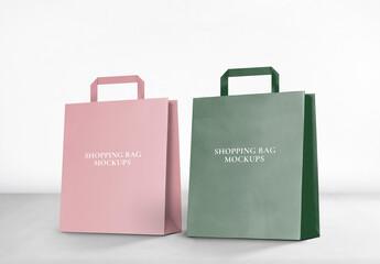 Fototapeta Editable Shopping Bag Mockup obraz