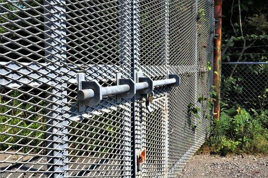 鉄フェンス 扉