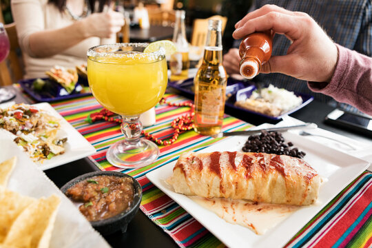 Cinco: Man Spices Burrito Up With Hot Sauce