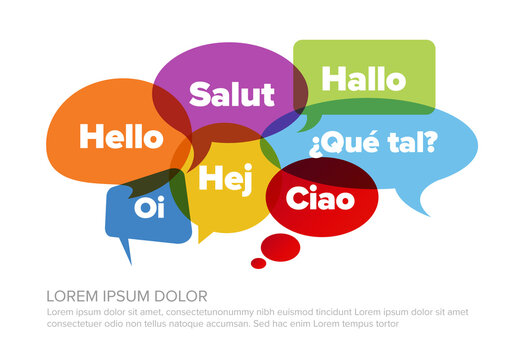 Concept Image for Promoting Foreign Languages in Language School