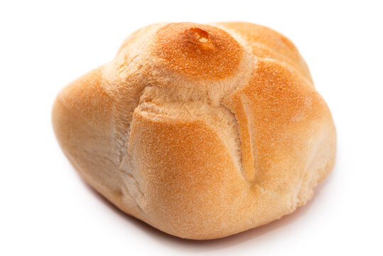 Michetta, pane tradizionale della Lombardia, cibo Italiano