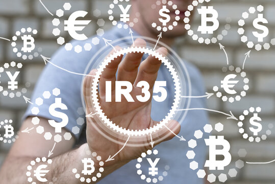 IR35 Law Tax Business Concept.