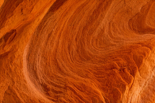 USA, Utah, Escalante, Close up of sandstone formation in Grand Staircase-Escalante National Monument