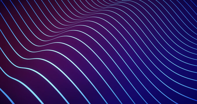 Digital wave lines, tech background. A backdrop ideal for technology advertisments