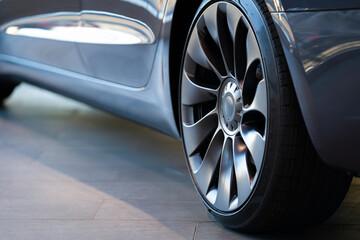 電気自動車のタイヤ部分