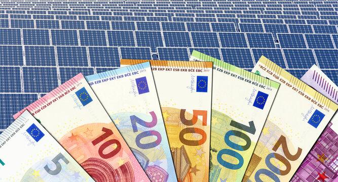 Gelder für Solarstromausbau