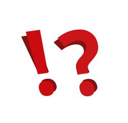 Obraz Znak zapytania, wykrzyknik - fototapety do salonu