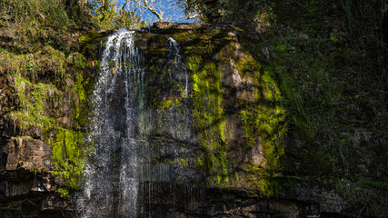 Fototapeta Walia wodospad w miejscu  Neath  obraz
