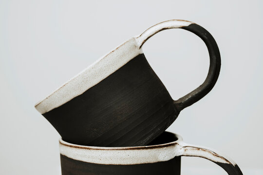handmade ceramic coffee cup